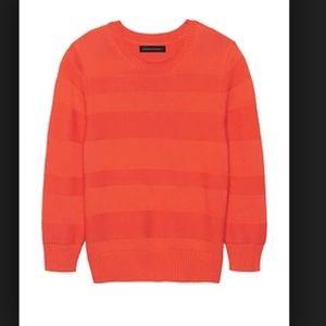 NEW Banana Republic Textured Stripe Sweater XS
